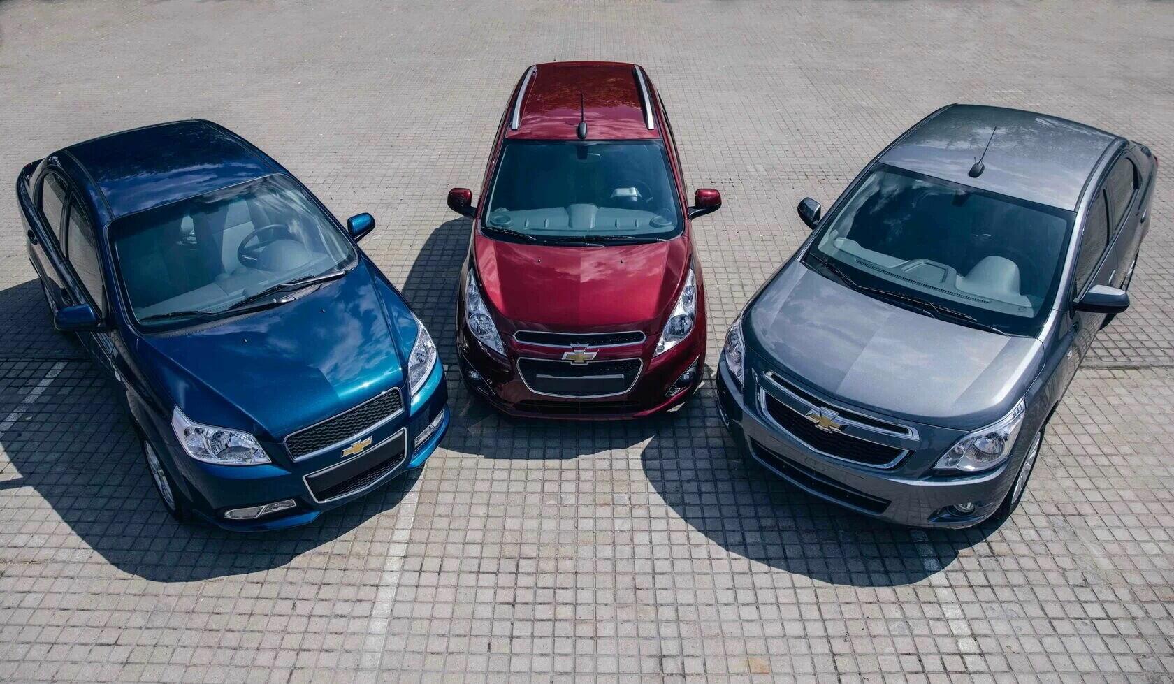 Первоначально на рынке будут представлены три модели Spark, Cobalt и Nexia