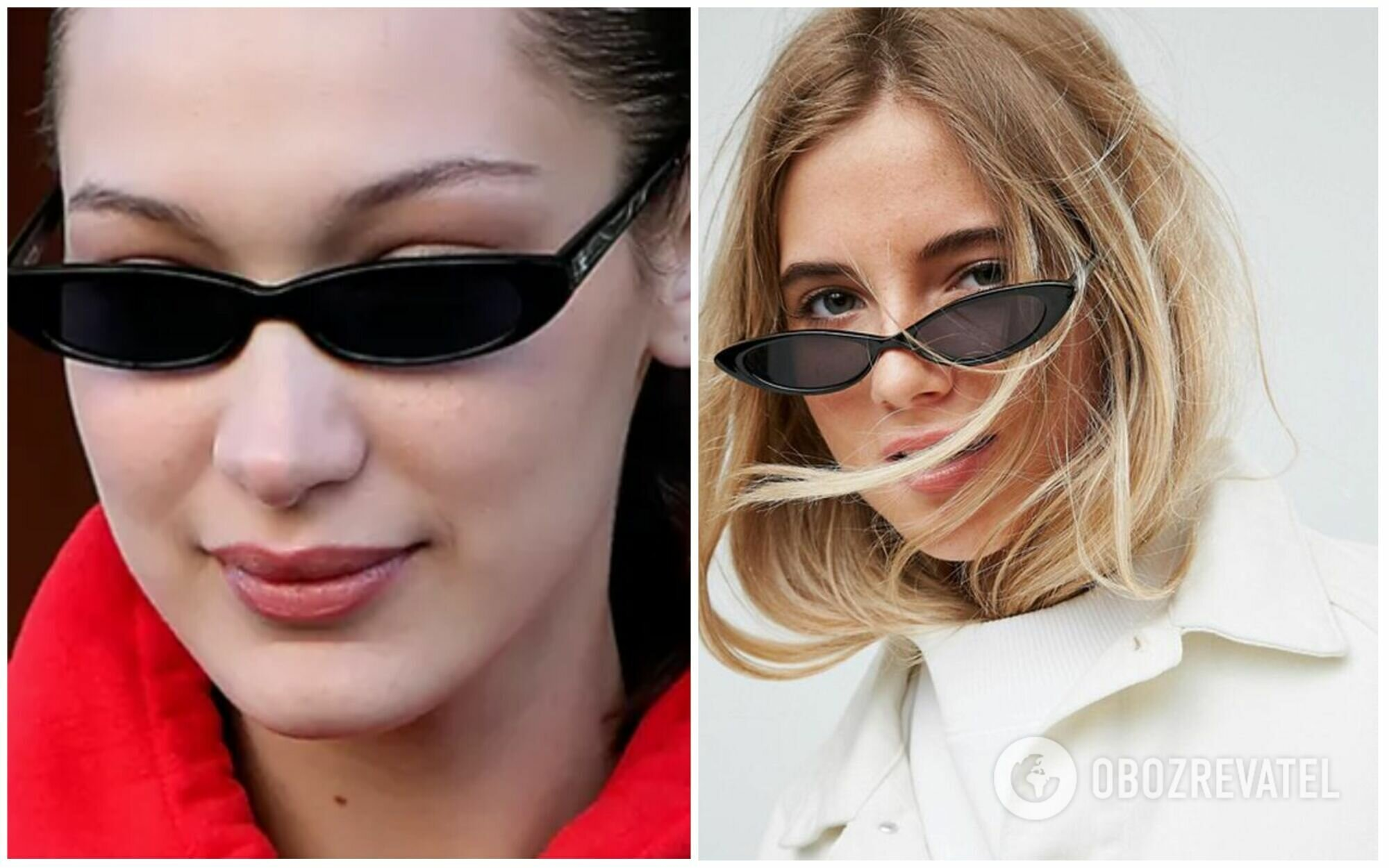 Тонкие очки вышли из моды