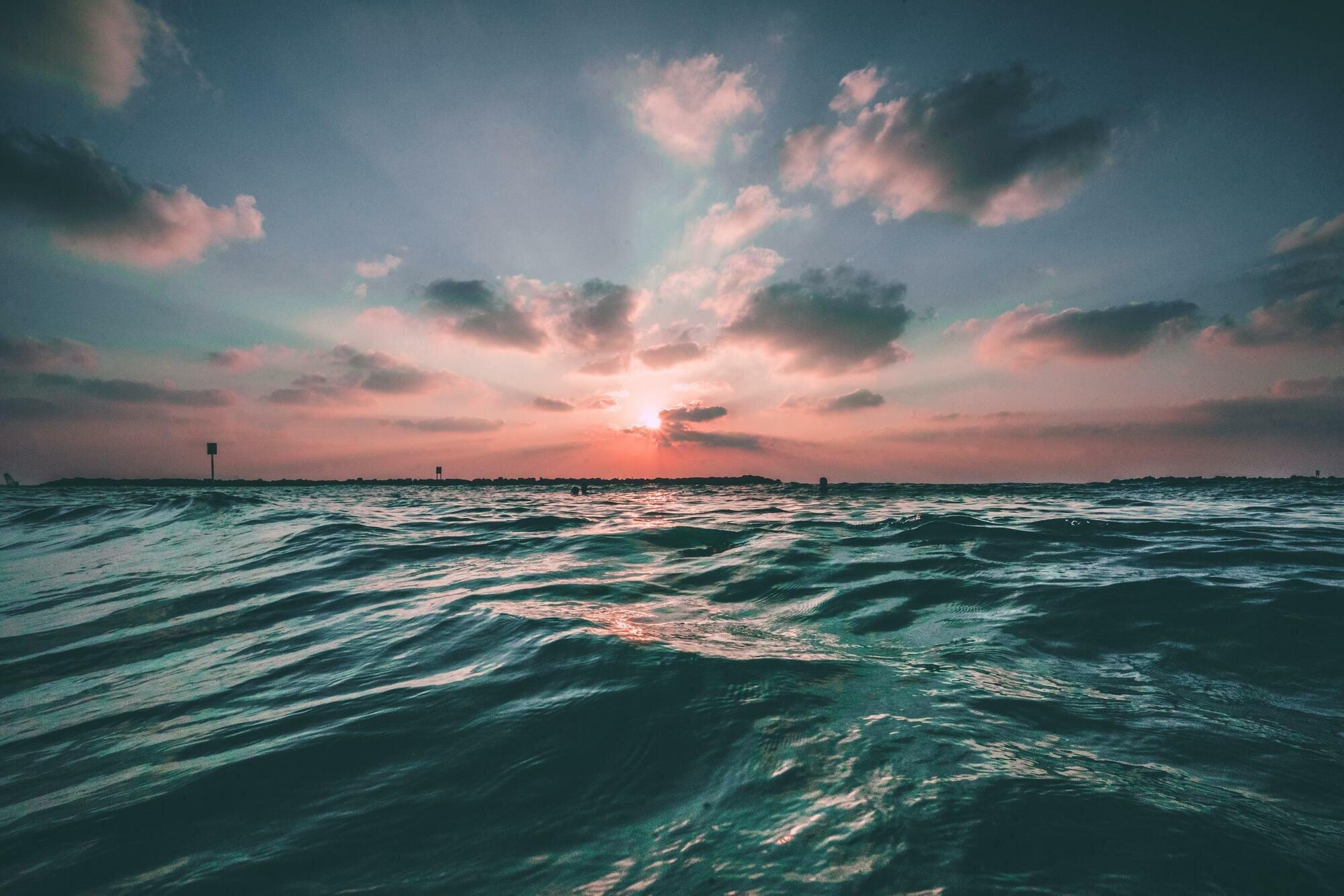 Воды Мирового океана составляют почти 96% всей воды на Земле