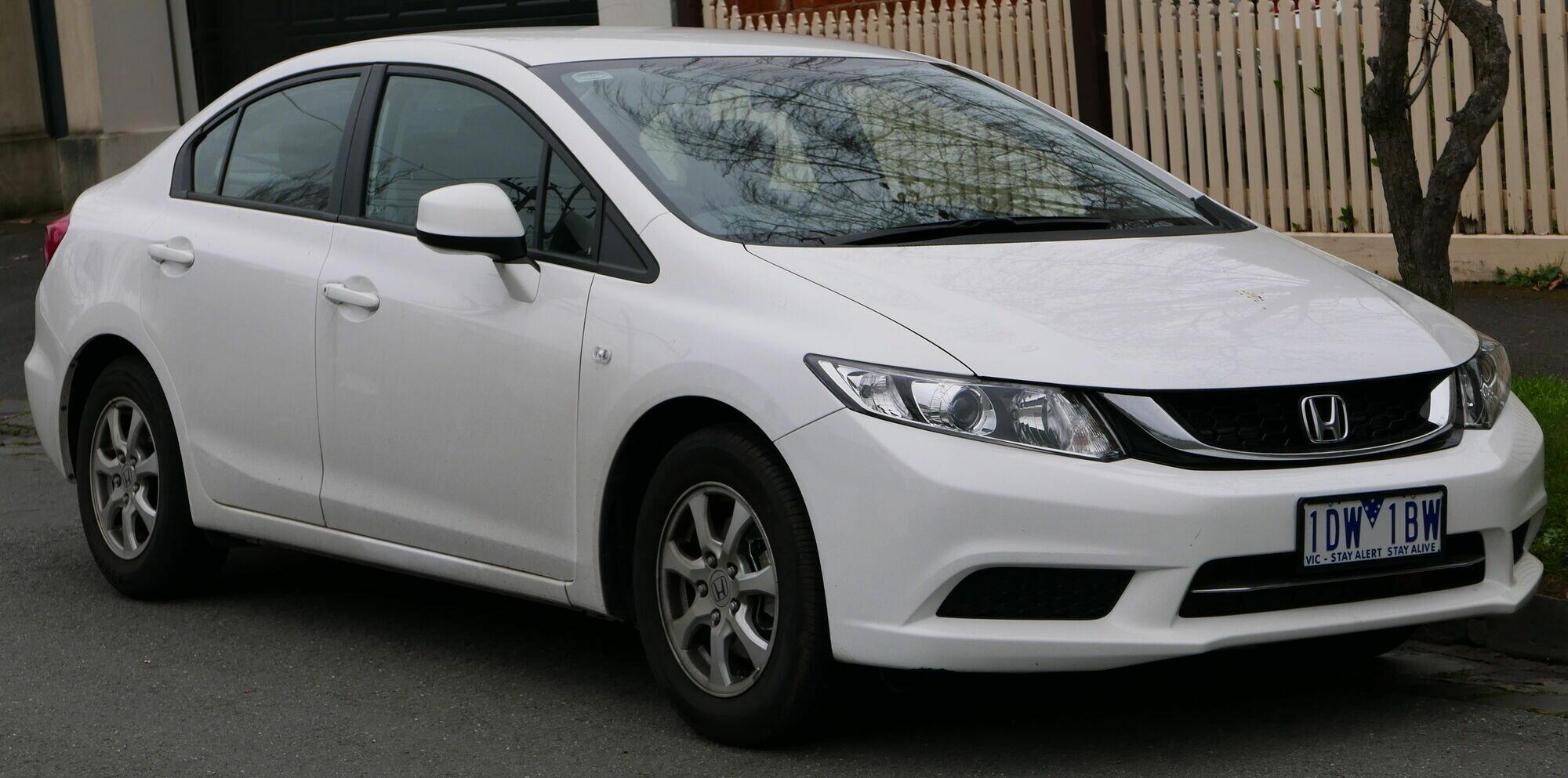 Honda Civic скучная в управлении, но надежная