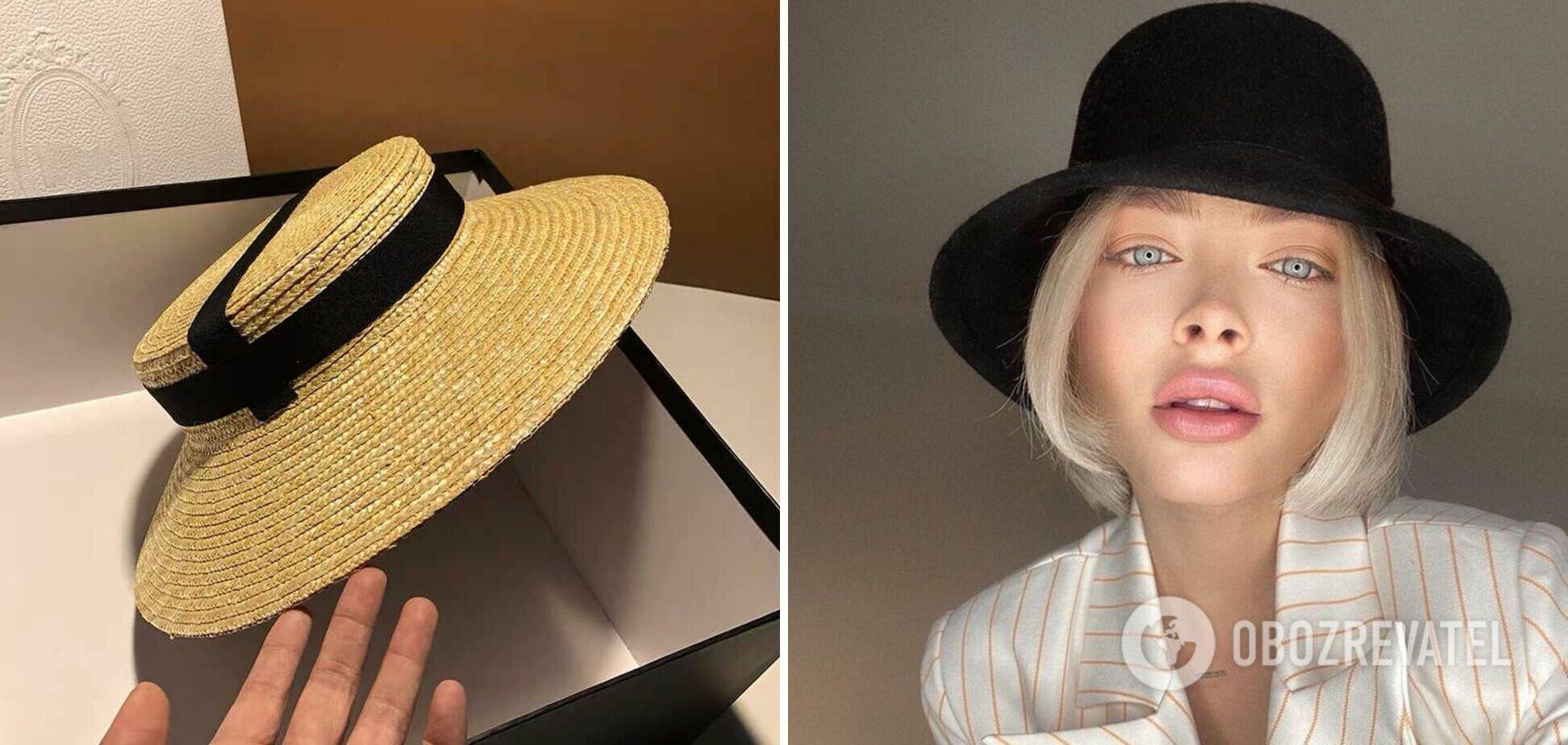 Шляпы и панамы в тренде в 2021 году.