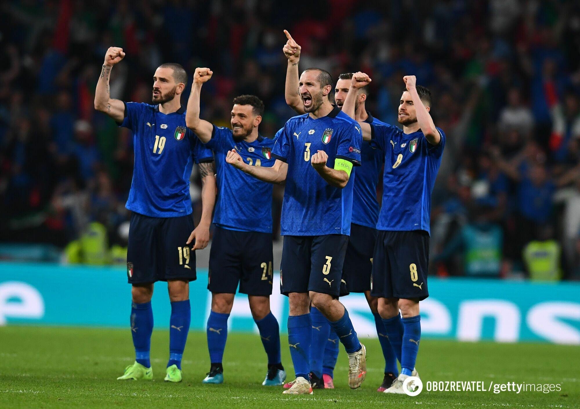 Италия выиграла Евро-2020.