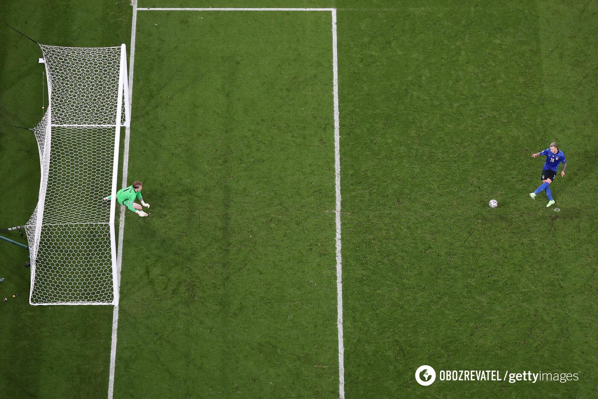 Федеріко Бернардескі забив головний пенальті на Євро