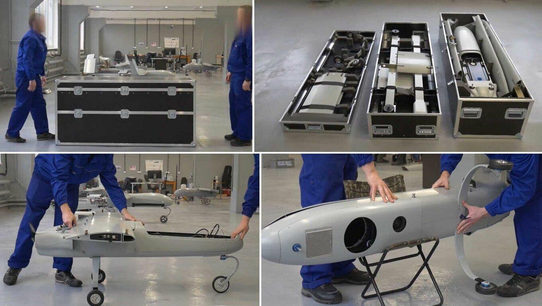 Украинский БПЛА PD-2 легко транспортируется и собирается
