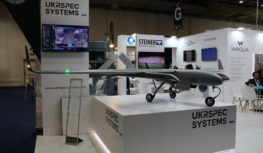 Украинский БПЛА PD-2 на выставке в Греции