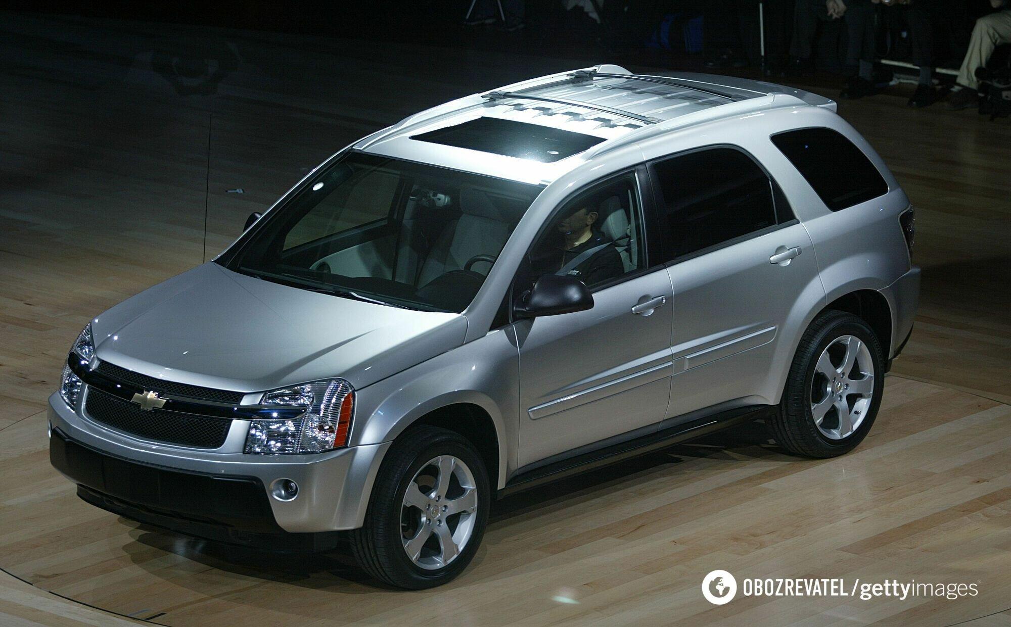 Chevrolet Equinox 2005 года выпуска