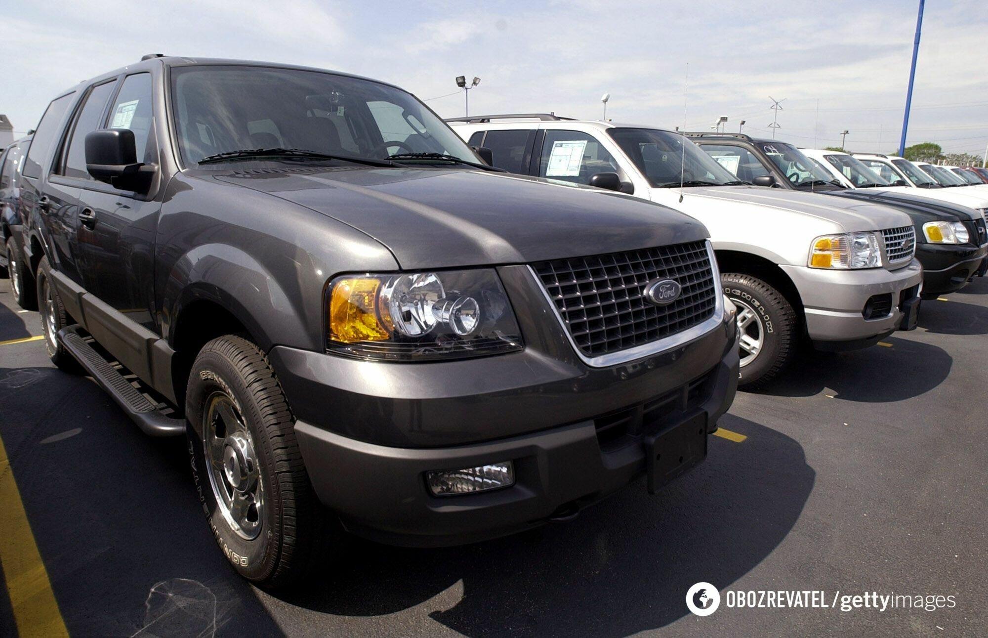 Ford Explorer 2004 года производства