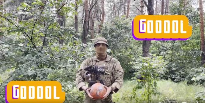 Военные тоже верят в победу Украины над Англией