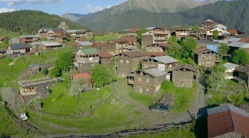 Грузинские деревни.