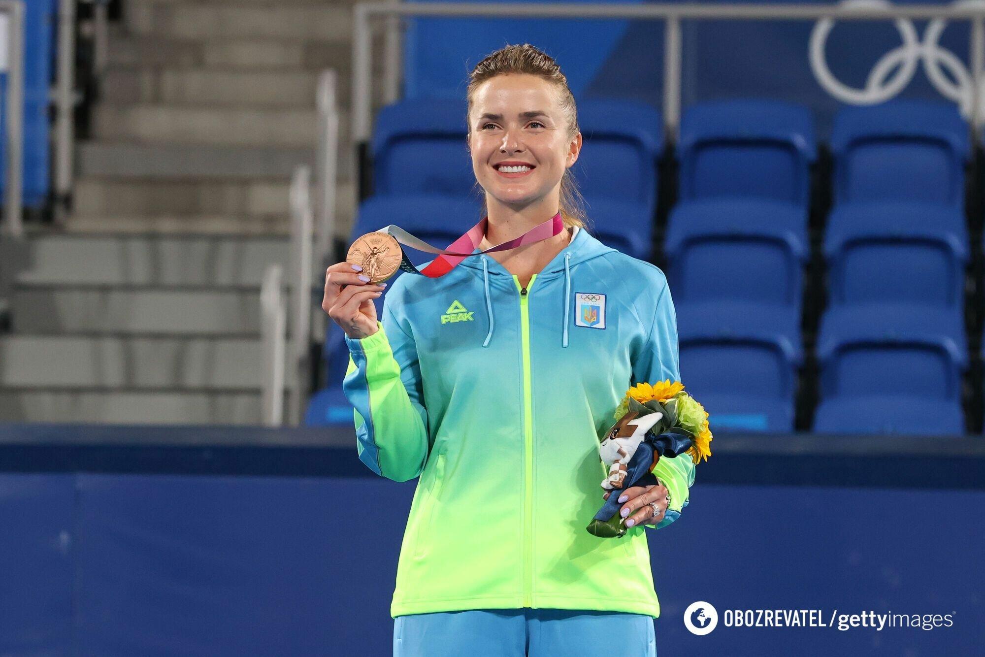 Элина Свитолина взяла медаль Олимпийских игр.