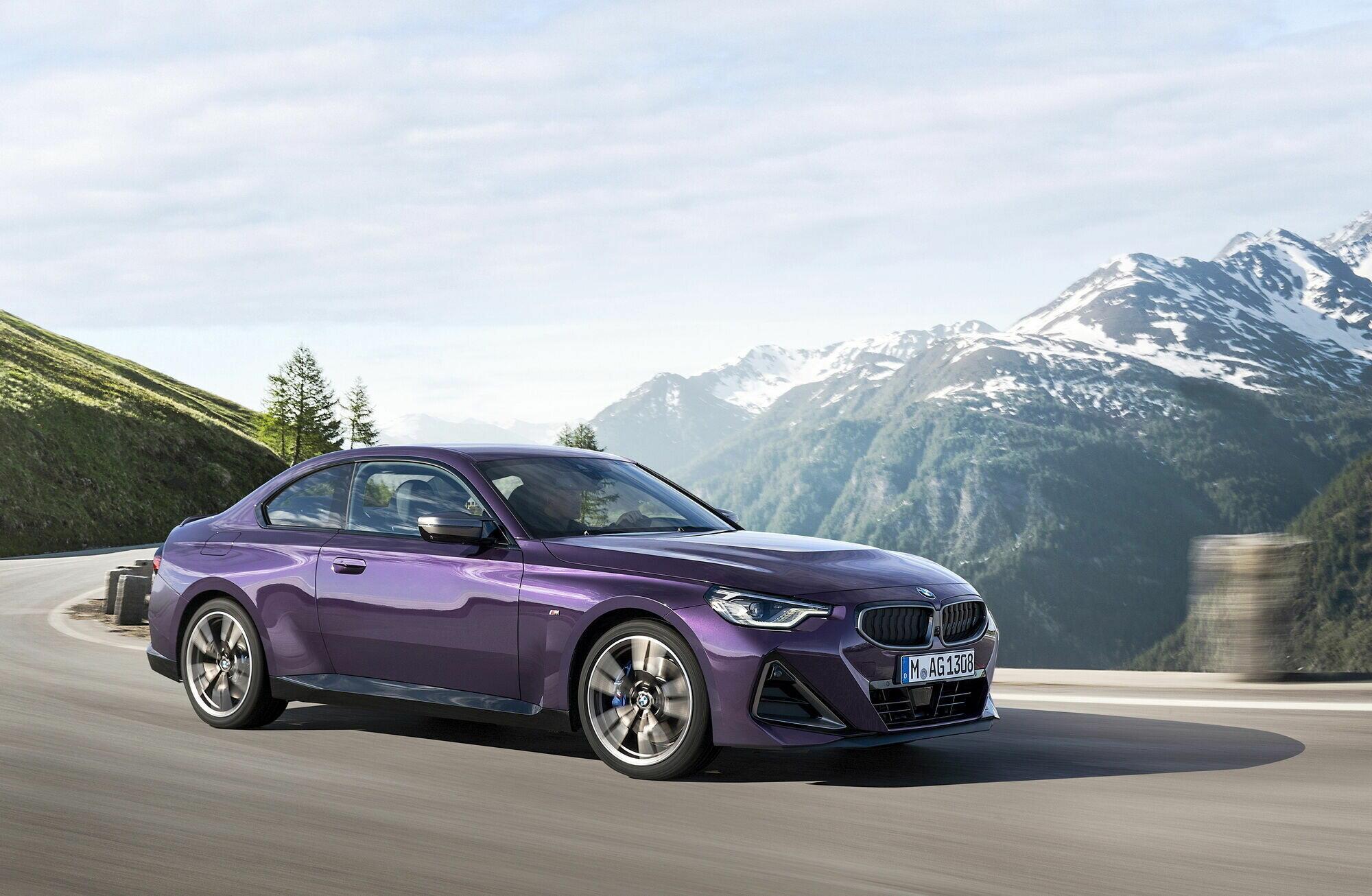 """Топовая версия BMW M240i xDrive Coupe оснащена рядной """"шестеркой"""" объемом 3 литра"""
