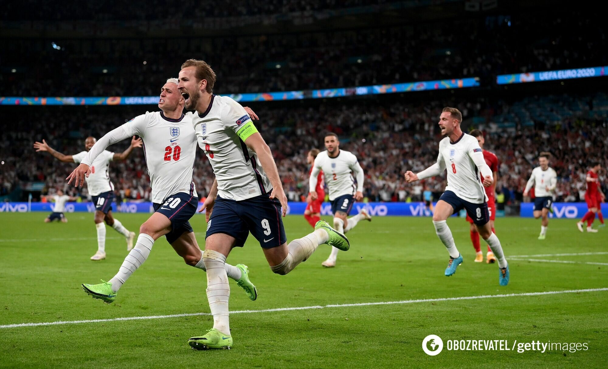 Гарри Кейн забил победный гол.