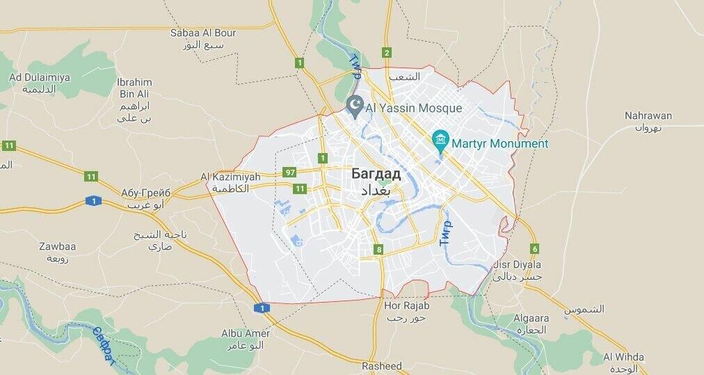 Инцидент произошел в Багдаде утром 8 июля