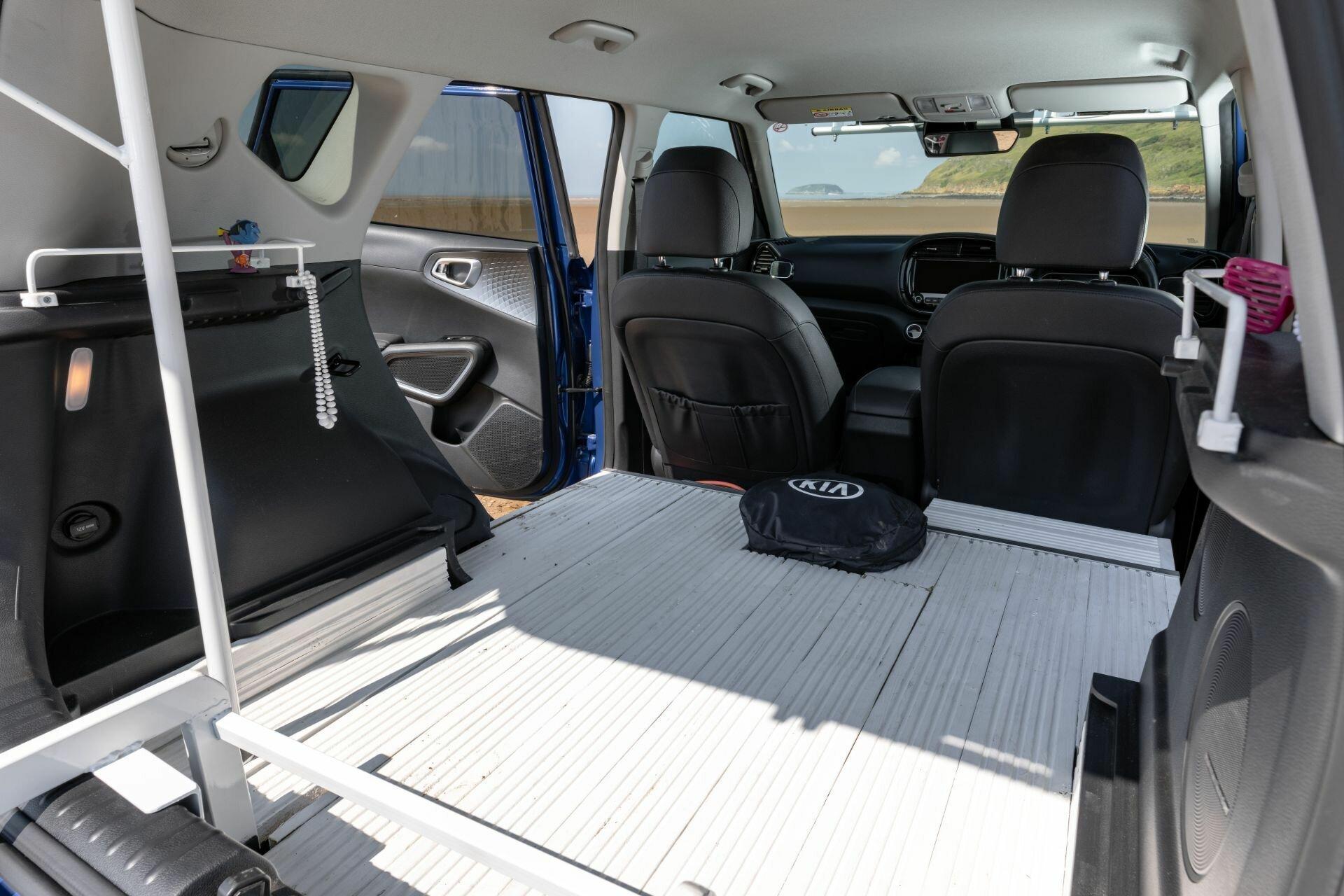 Вместительное багажное отделение было увеличено за счет демонтажа заднего ряда сидений