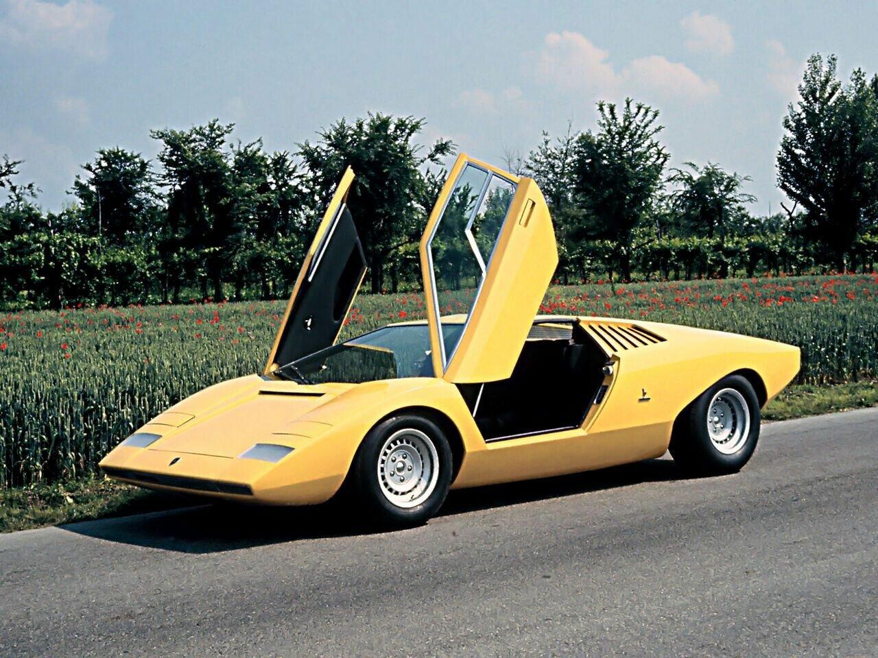 1971 Lamborghini Countach LP500 от ателье Bertone