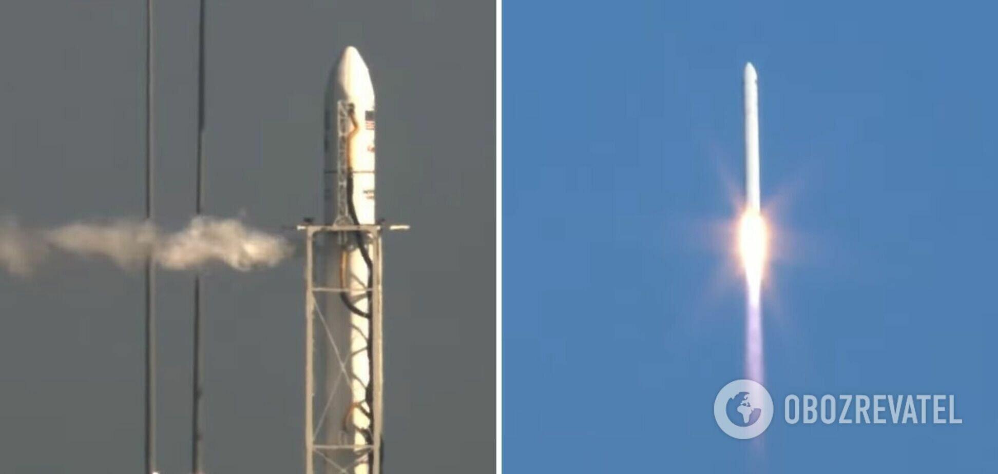 Antares состоит из двух ступеней и космического грузового корабля Cygnus