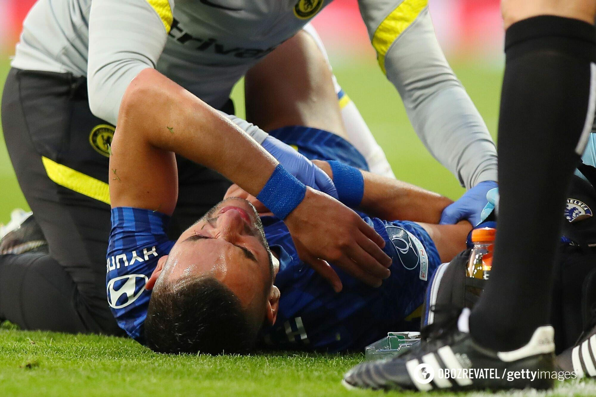 Зиеш получил травму