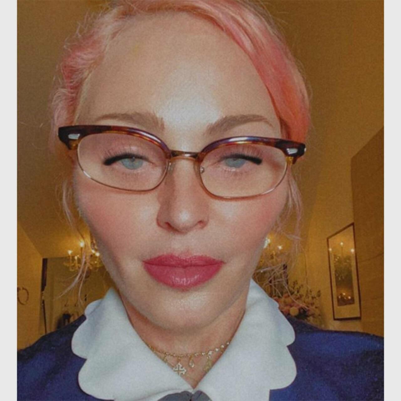 Мадонна в свои 63 года