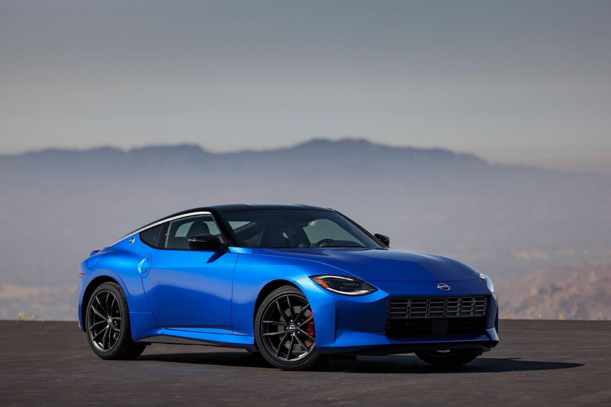Седьмая генерация лишилась цифрового индекса и будет продаваться на всех рынках кроме японского под именем Nissan Z