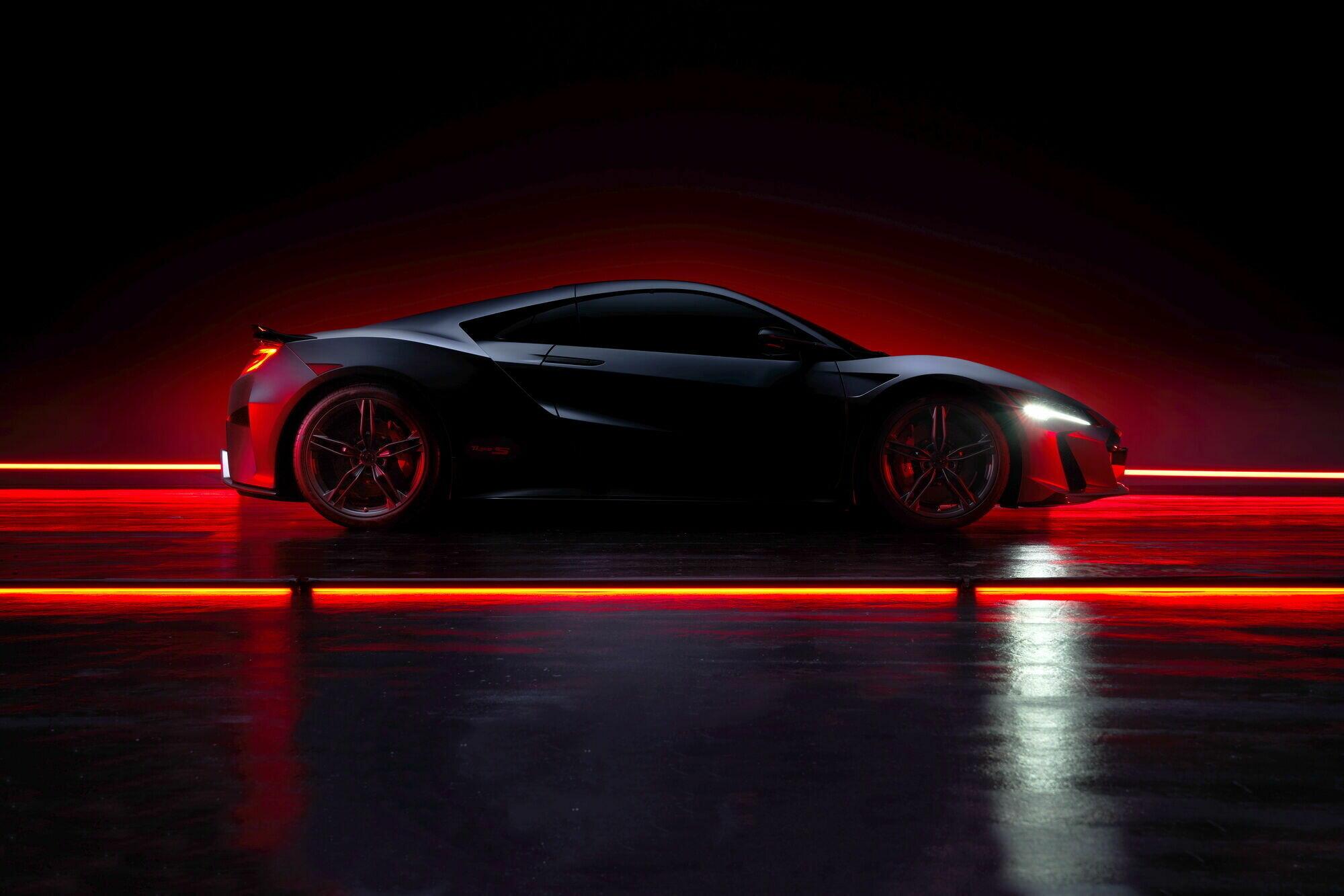 Acura выпустит лимитированную серию суперкара NSX Type S