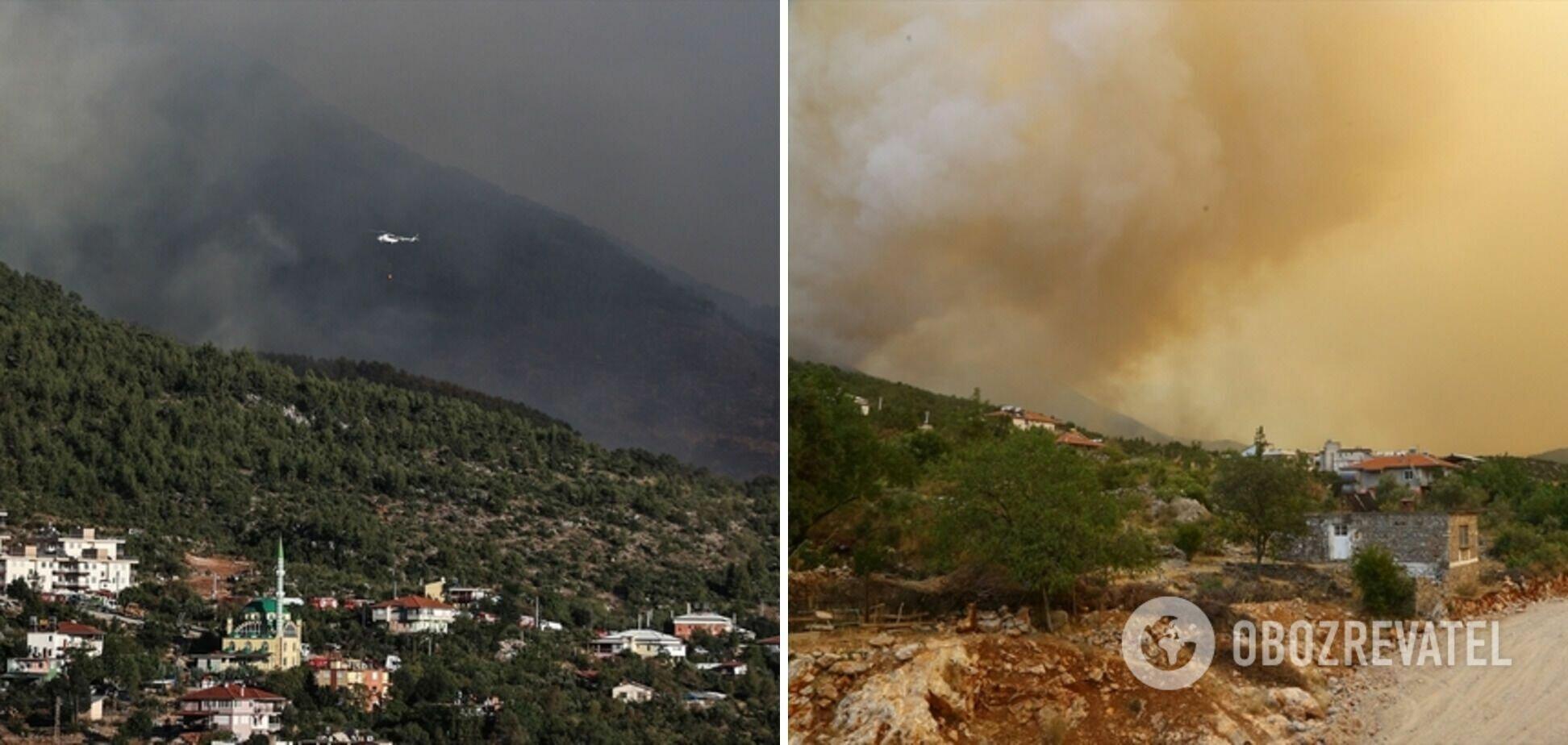 Пожары в Турции взяли под контроль