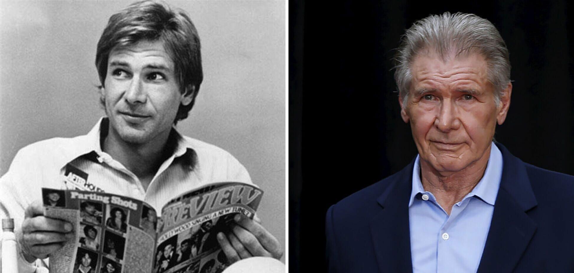 """Харрисон Форд снимался в киноленте """"Звездные войны""""."""