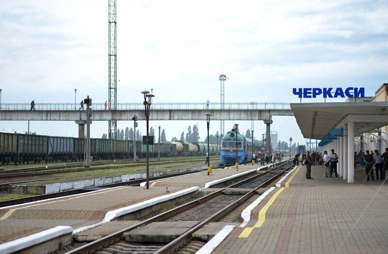Железнодорожные пути в Черкассах