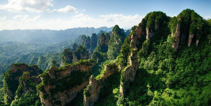 Район Янцзяцзе в национальном лесном парке Чжанцзяцзе