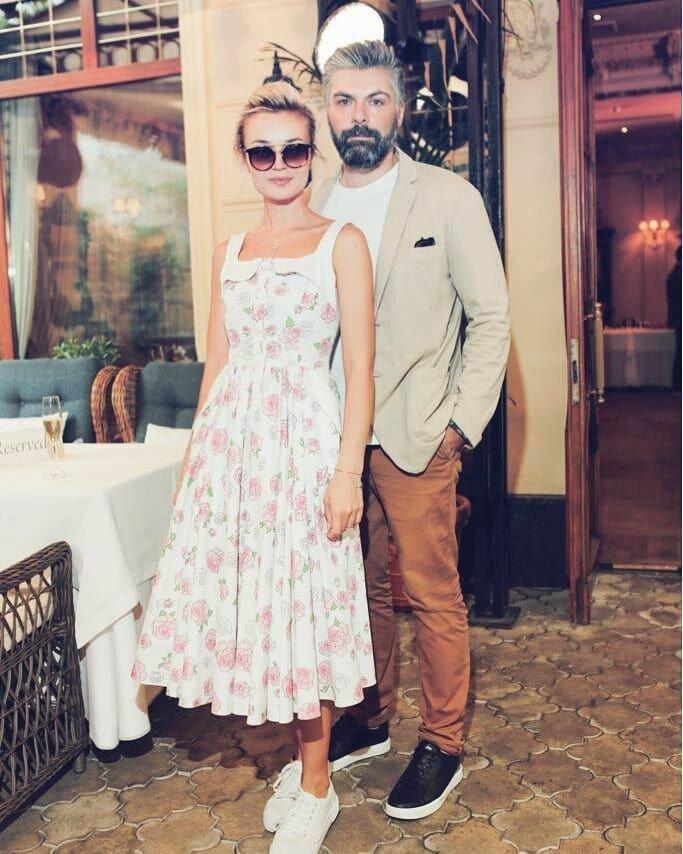 Поліна Гагаріна з чоловіком_1