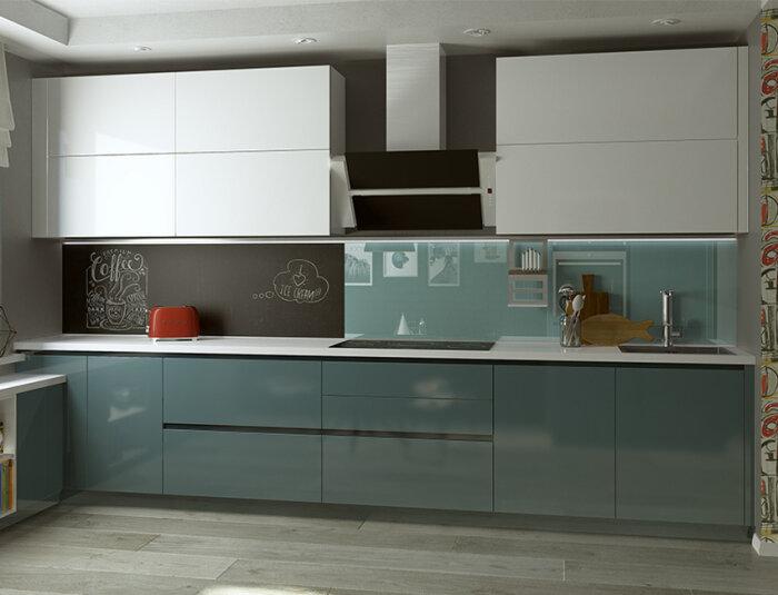 Отличное решение для маленькой кухни. /Фото: mebeline.by