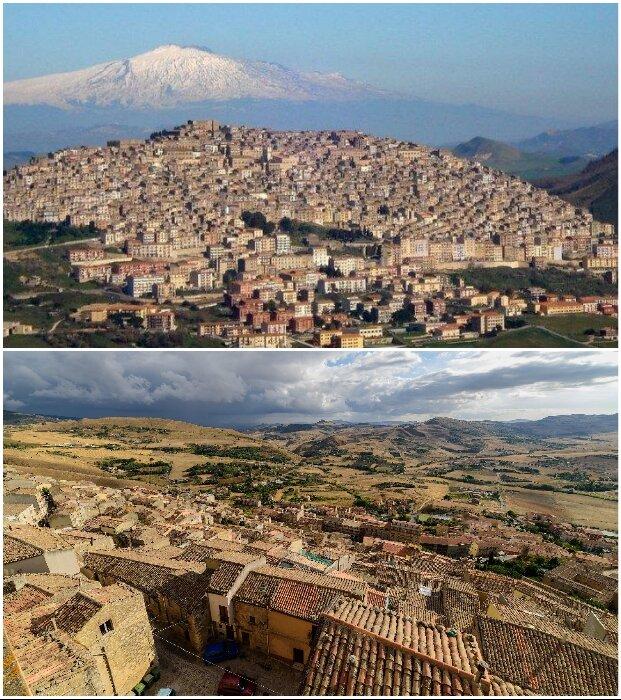 Даже такой городок, как Ганджи в скором времени может стать призраком, если не остановить запустение (Италия).