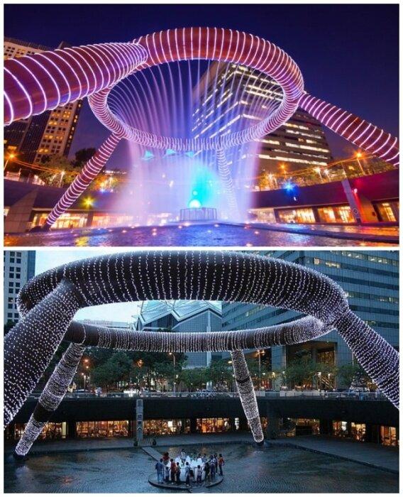 Фонтан богатства в Сингапуре – самый большой фонтан в мире. | Фото: mirputeshestvii.ru.