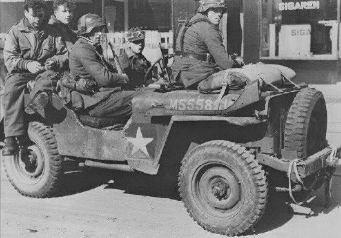 Немцы про особенности джипа не знали, поэтому и попадались американской контрразведке, прокатываясь на них вчетвером. /Фото: 9ss.co.uk