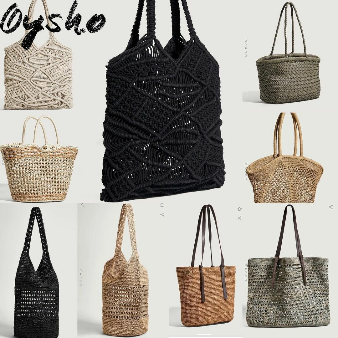 В стиле Джейн Биркин: стилист показала, какие плетеные сумки выбирать на лето 2021