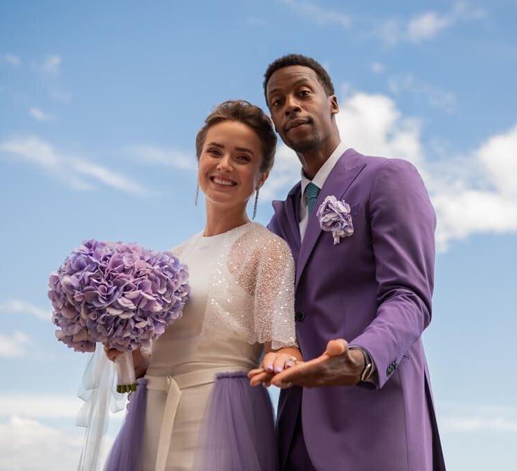 Элина Свитолина вышла замуж: история любви яркой спортивной пары в фото