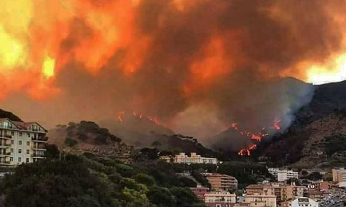 В Италии горят леса. Появились первые жертвы