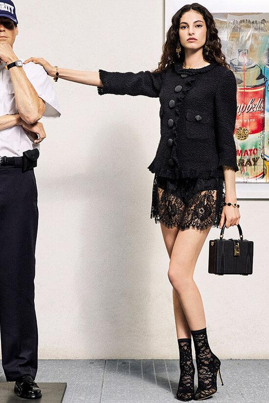 Модный наряд из коллекции Dolce & Gabbana
