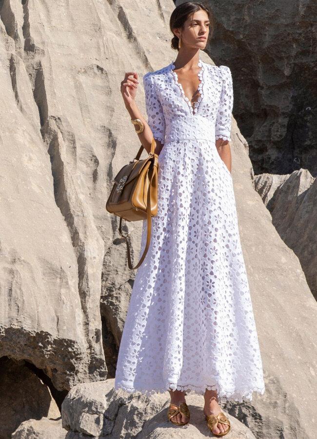 Кружевное платье из коллекции Elie Saab