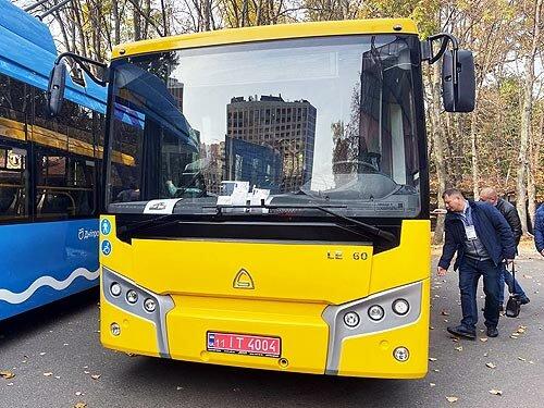 На яких автобусах їздитимуть в містах України. Огляд виставки City Trans 2 021 - автобус