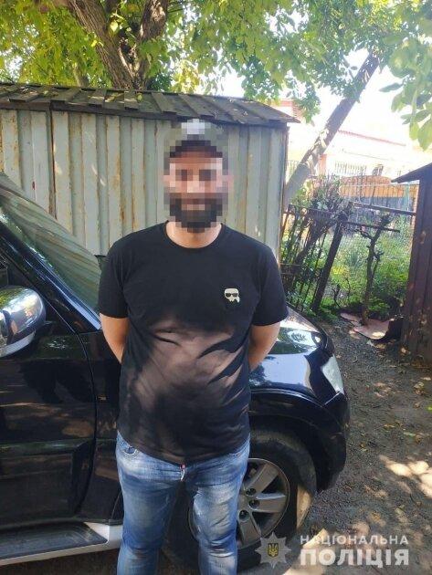 Задержанный гражданин Израиля