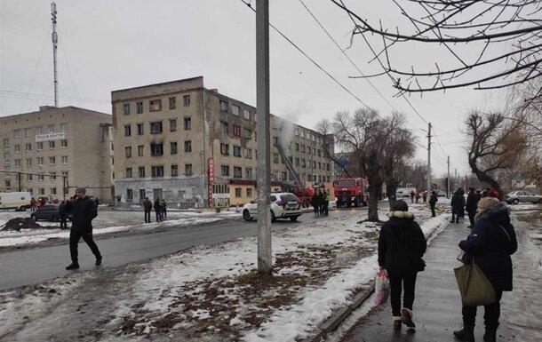 В Павлограде горит общежитие, людей эвакуируют
