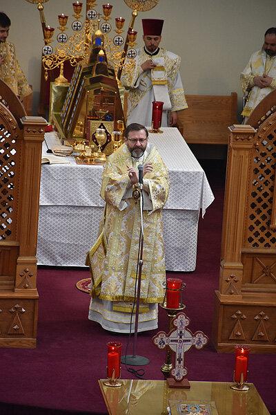 Літургія в українському храмі у Вашингтоні