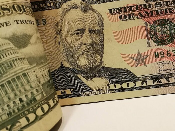 Падение доллара усилилось