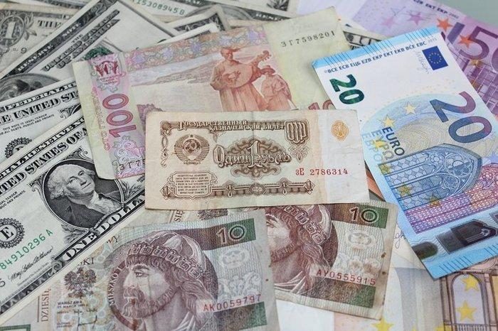 Самые популярные валюты в Украине
