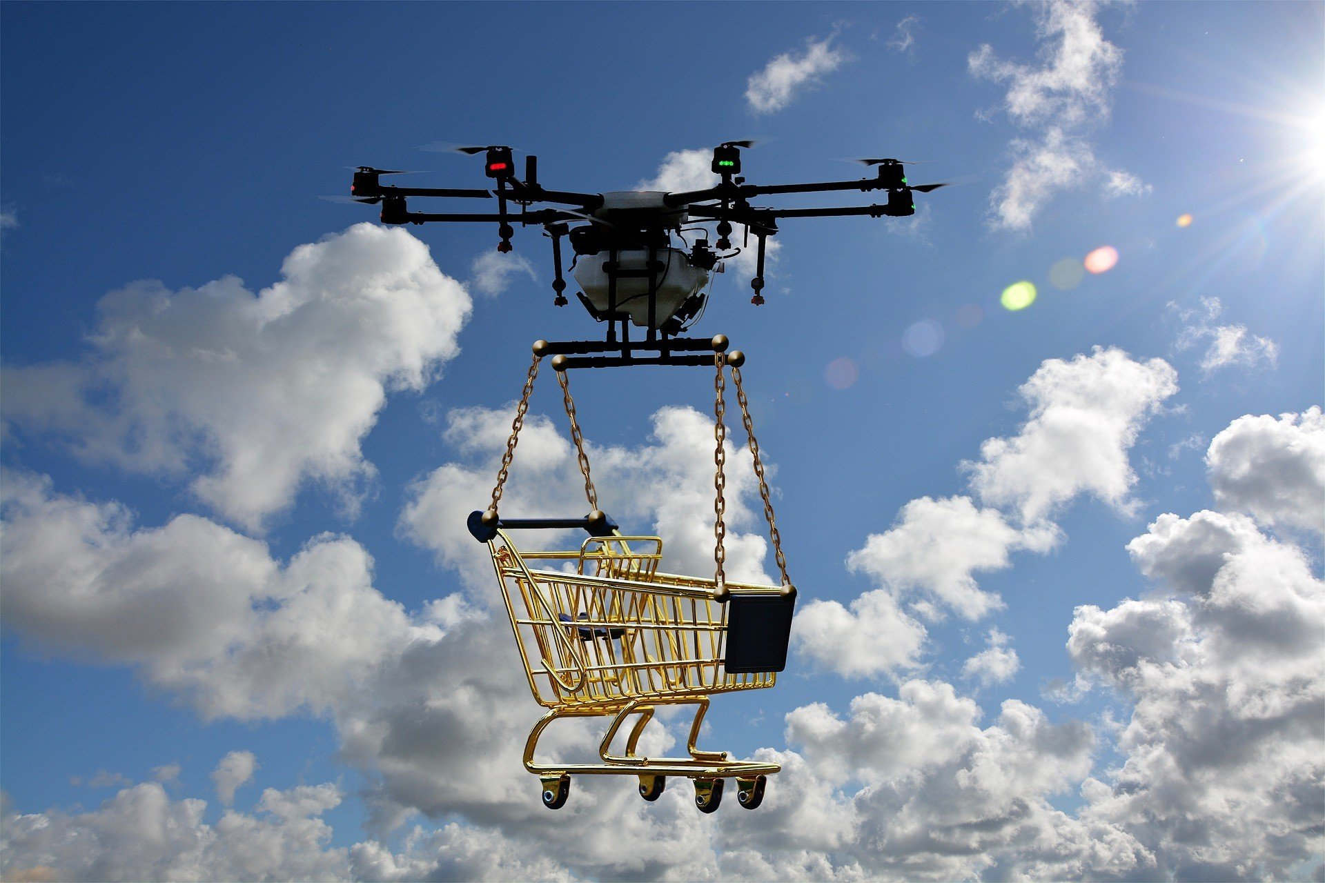 Великобритания воспользуется дронами для медицинских поставок