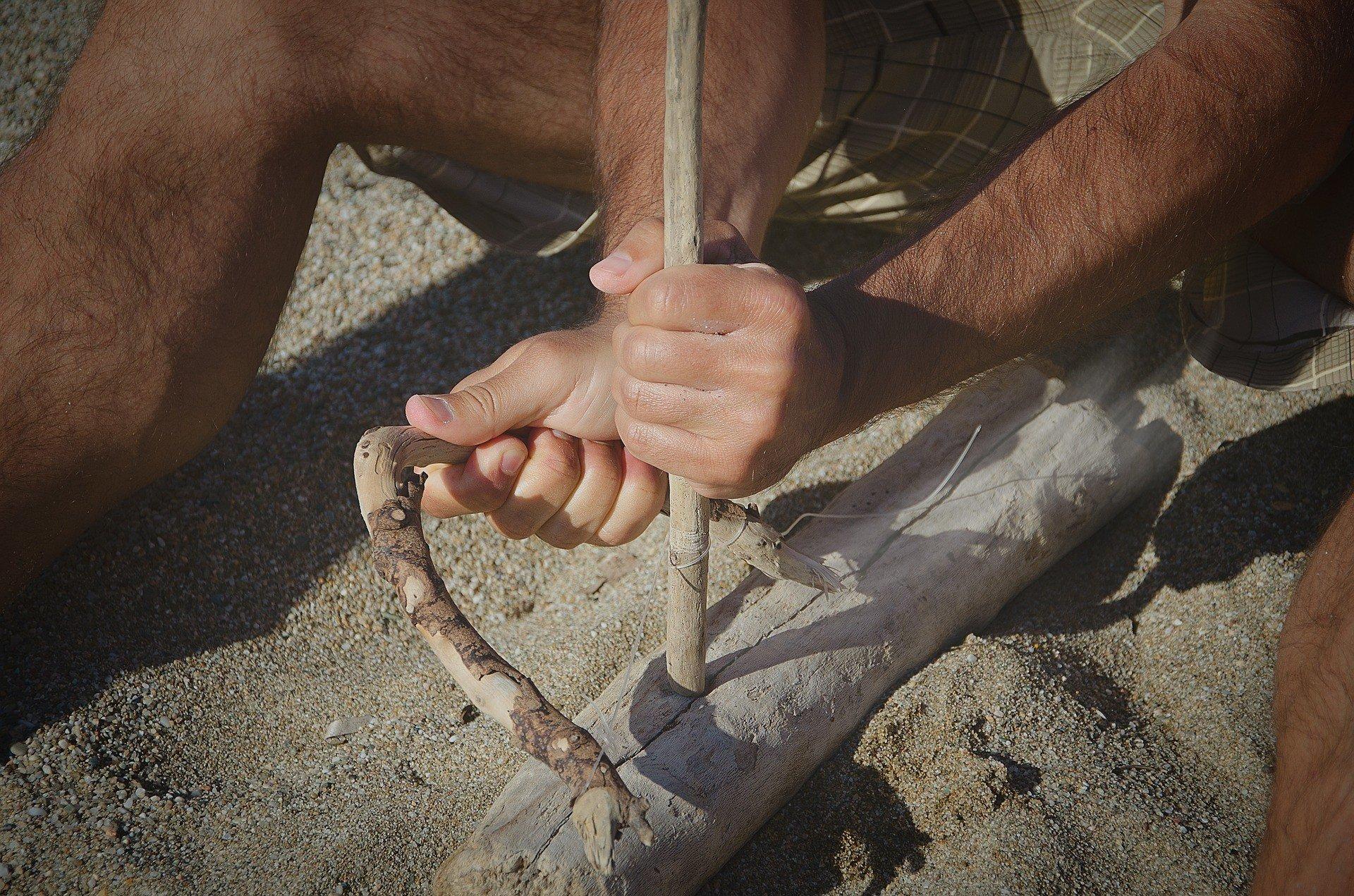 В пещере неандертальцев найдена 50000-летняя нитка