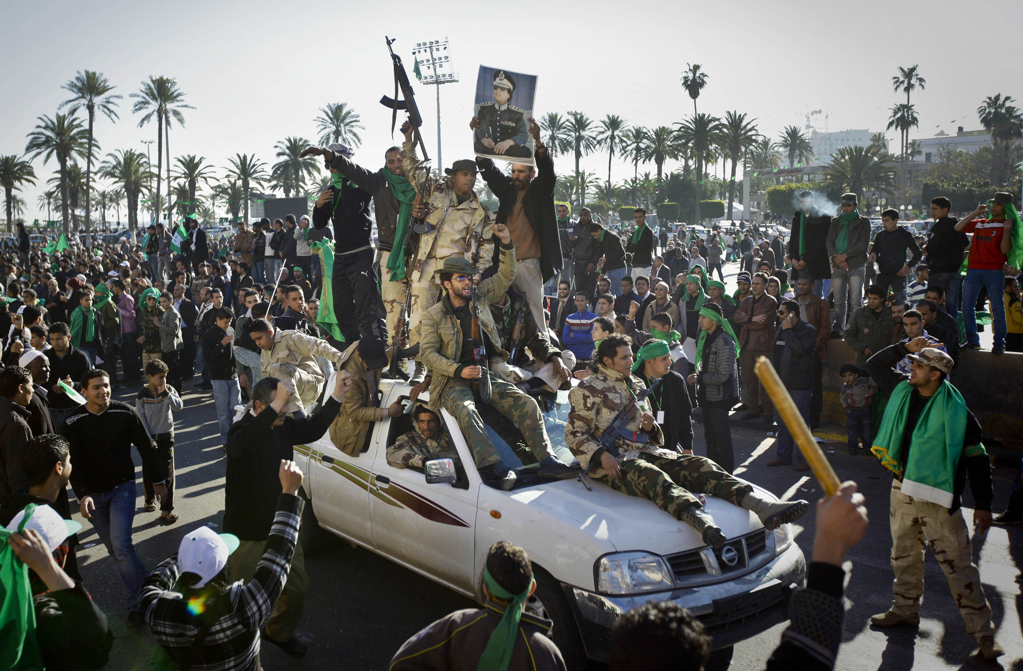 Когда закончится война в Ливии