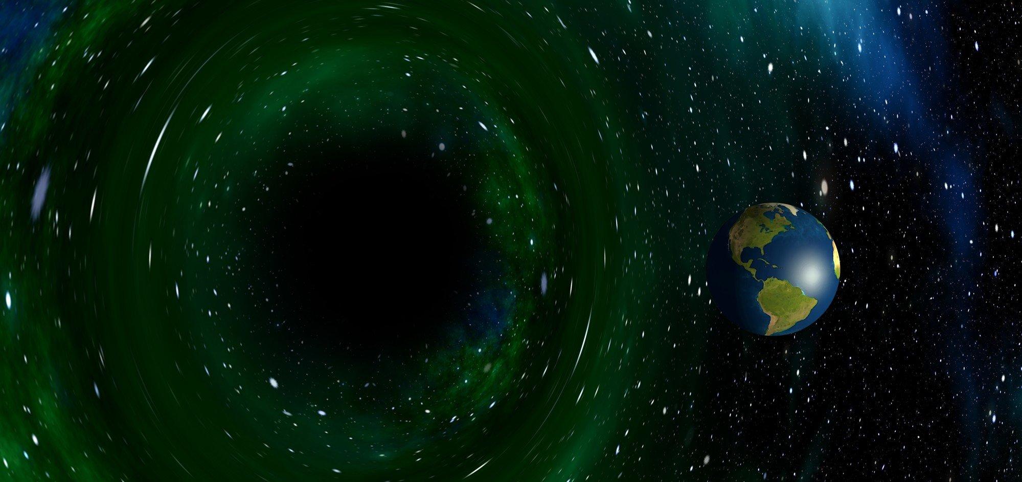 Обнаружена ближайшая к Земле черная дыра
