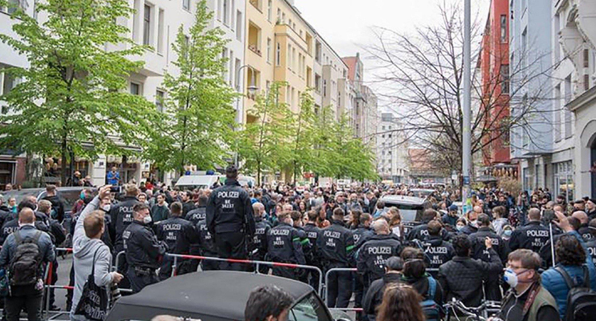 В Германии протестуют против ограничений