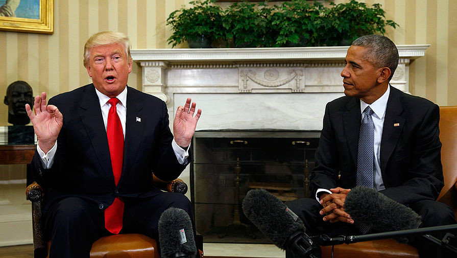 Трамп обвинил Обаму в госизмене
